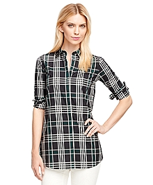 Cotton Black Watch Tunic