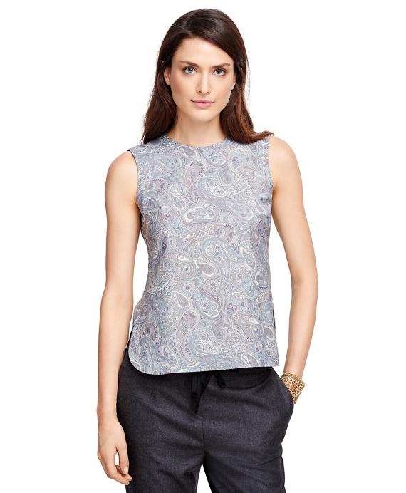 Cotton Sleeveless Printed Shirt