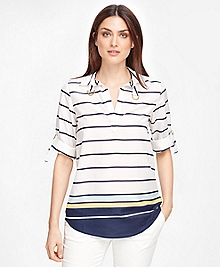 Cotton Stripe Tunic