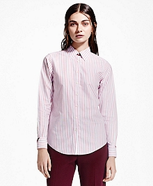 Striped Non-Iron Dress Shirt