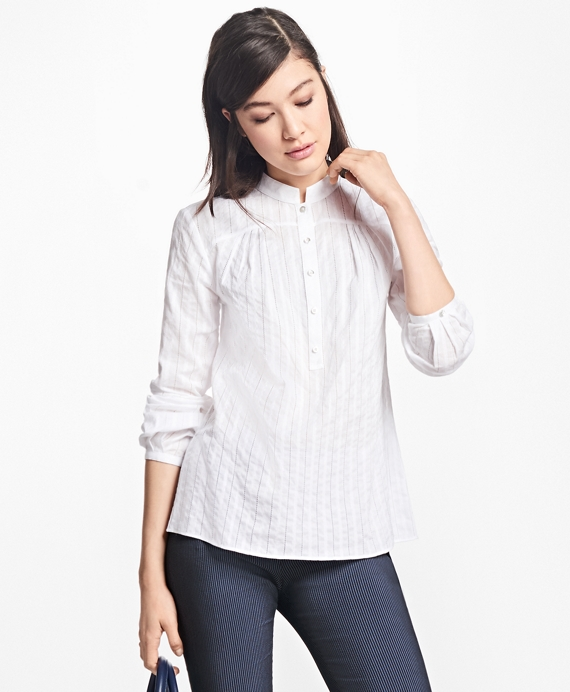 Cotton Poets Blouse White
