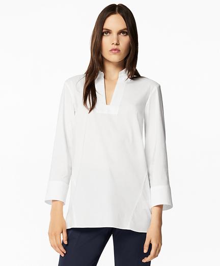 Stretch Cotton Tunic
