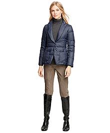 Short Nylon Puffer Jacket