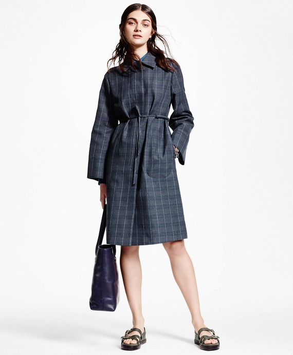 Double-Faced Wrap Coat Grey