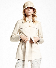Water-Resistant Cotton Poplin Jacket