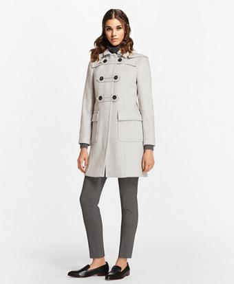Wool-Cashmere Duffle Coat