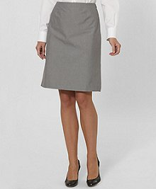 Brooks Brothers Pinstripe Skirt