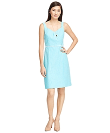 Seersucker Stripe Dress