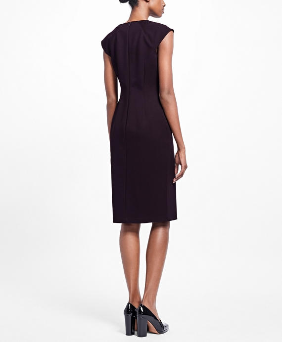 Shop Old Navy's Sleeveless Ponte-Knit Sheath Dress for Women: Some things are just made for each other. Peanut butter and jelly. Coffee and cream. Killer heels and a timeless sheath dress. This one expertly toes the line between casual and classy so it looks great everywhere. Online exclusive!,Rounded neckline.,Sleeveless.,Seamed waist.