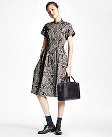 Medallion Shirt Dress
