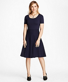 Jacquard Knit Dress