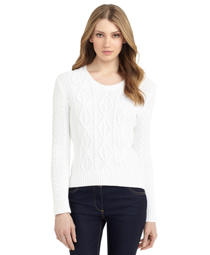 Buy Aran Cable Sweater, see details about this diamond and more