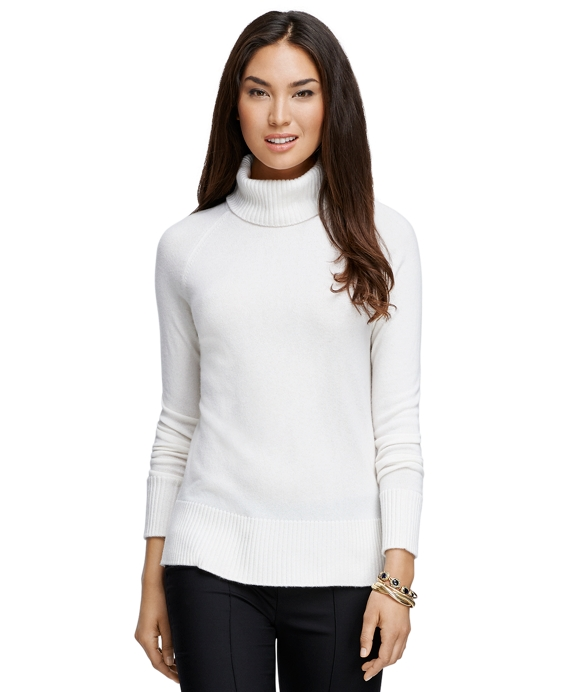 Cashmere Turtleneck Ivory