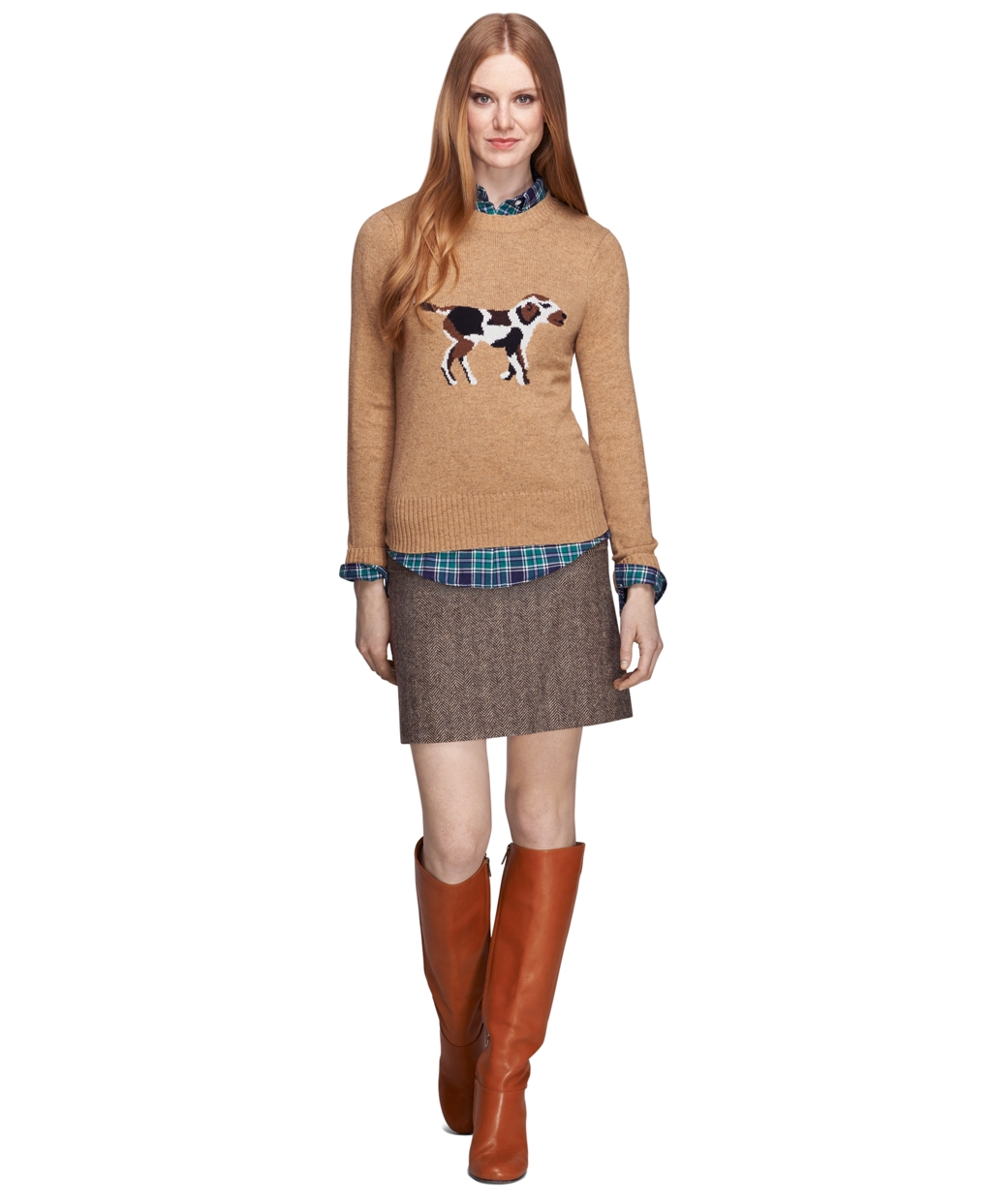 dee218ec6121 The Preppy Leopard   Classic preppy styling with a wild twist   Page 2