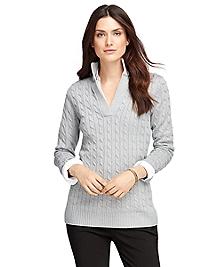 Saxxon® Wool Cable Tunic