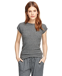 Cap Sleeve Cashmere Sweater