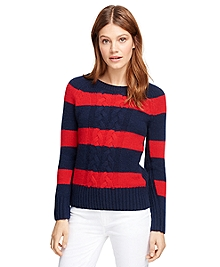 Cashmere Rugby Sweater