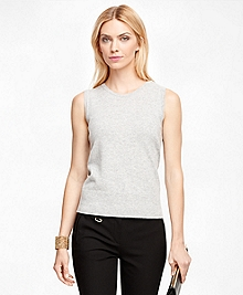 Cashmere Sleeveless Shell