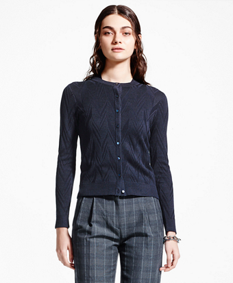 Supima® Cotton-Blend Cardigan