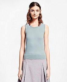 Sleeveless Supima® Cotton Shell