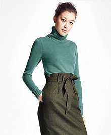 Long-Sleeve Cashmere Turtleneck