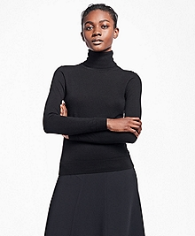 Saxxon Wool Turtleneck Sweater