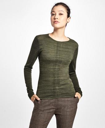 Merino Wool Crew Neck Sweater