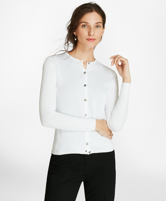 Lightweight Supima® Cotton Cardigan