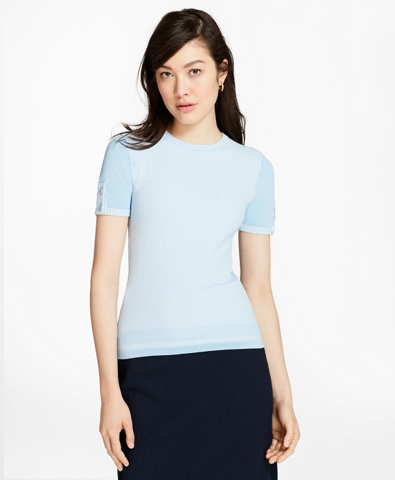 Blue-Ivory