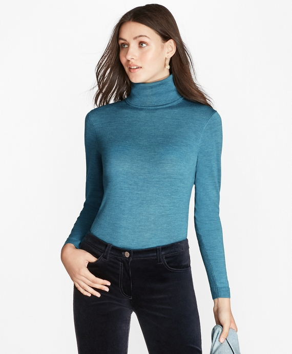 Saxxon™ Wool Turtleneck Sweater