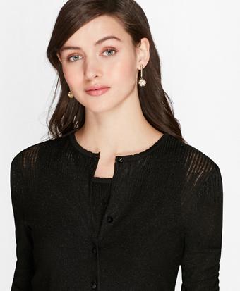Shimmer Knit Cardigan