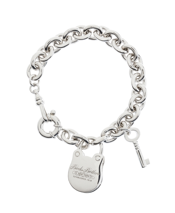 "7.5"" Sterling Charm Bracelet As Shown"