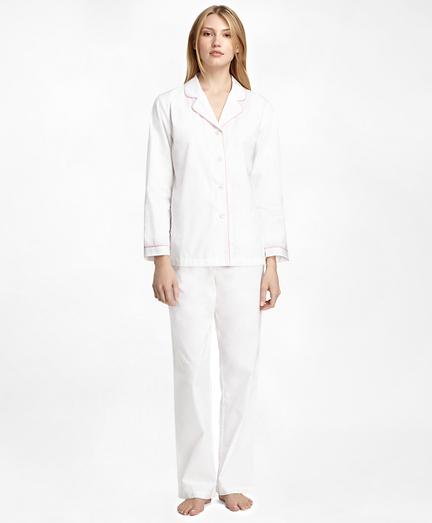 Cotton Long-Sleeve Pajama Set