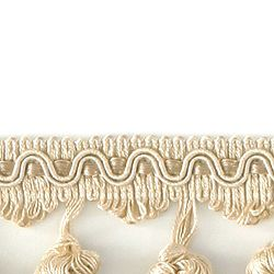 "DECORATIVE TRIM 2 1/2"" BALL FRINGE BE 92114"