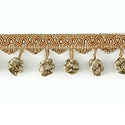 "DECORATIVE TRIM 2 1/2"" BALL FRINGE CAT 92122"