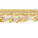 "DECORATIVE TRIM 2 1/2"" BALL FRINGE BCP 92160"