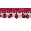 "DECORATIVE TRIM 2 1/2"" BALL FRINGE RAS 92170"