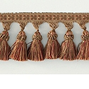 "DECORATIVE TRIM 3"" TASSEL FRINGE BARNACLE 159309"
