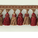"DECORATIVE TRIM 3"" TASSEL FRINGE TERRACOTA 159583"