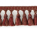 "DECORATIVE TRIM 3"" TASSEL FRINGE CHILI 159601"