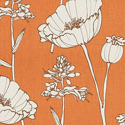 POPPYFIELD - THOM FILICIA FABRIC - TANGELO