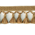"DECORATIVE 3"" TASSEL FRINGE GOLD 287669"
