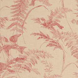 BIRD TOILE SPICED CORAL