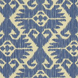 COUNTRY CABIN - ROBERT ALLEN FABRICS BLUEBELL