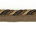 "DECORATIVE 3/8"" CORD BLACK 296193"
