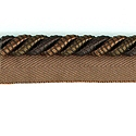 "DECORATIVE 3/8"" CORD CHOCOLATE 296194"