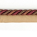 "DECORATIVE 3/8"" CORD ROSE 296198"
