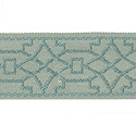 "DECORATIVE TRIM 2"" JACQUARD TAPE VERBENA 300895"
