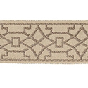 "DECORATIVE TRIM 2"" JACQUARD TAPE OAK 300897"