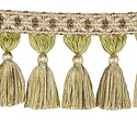 "DECORATIVE TRIM 3 1/2"" TASSEL FRINGE GRASS 300903"